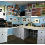 my dream scrapbooking room…I'm drooling…