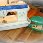 my new (to me) sewing machine