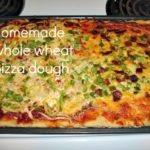 easy and healthy homemade pizza dough