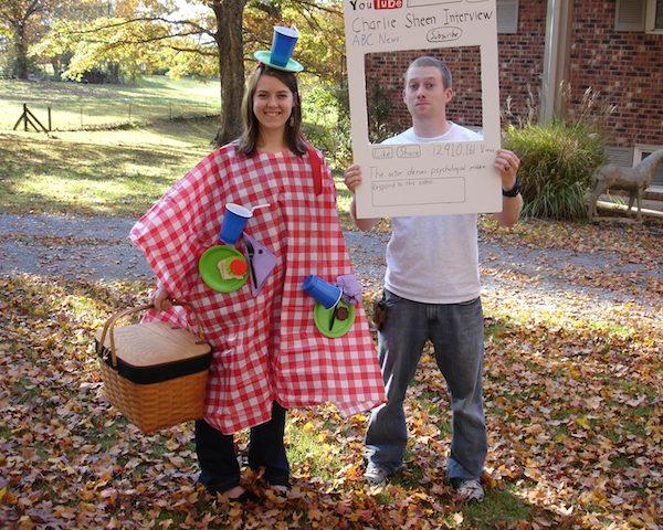 Halloween 2011 – Picnics and Charlie Sheen
