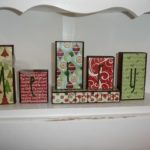 a dual purpose craft – Thanksgiving and Christmas wooden blocks