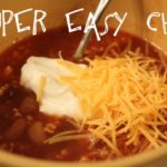 super easy chili