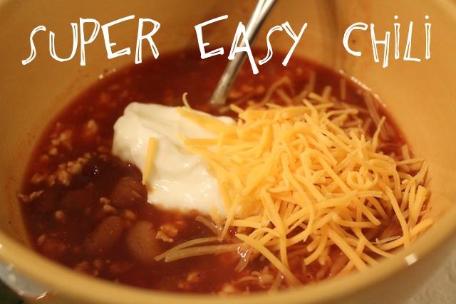 super easy chili