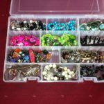 tackle box jewelry storage {Works for Me Wednesday}
