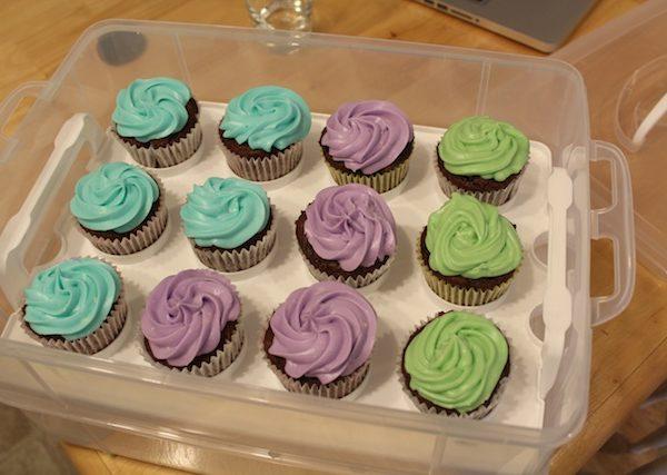 healthy(ier) cupcakes