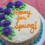 cake decorating class – week 4