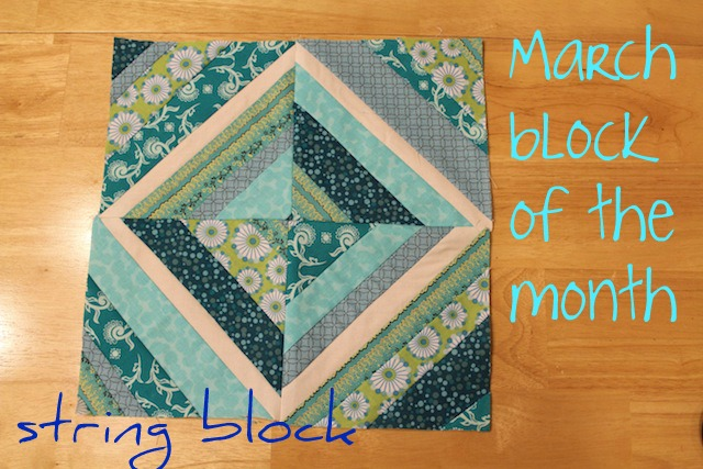 March block of the month
