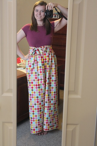 I made clothes today!