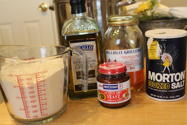 What You Need Whole Wheat Flour Oil Yeast Honey And Salt