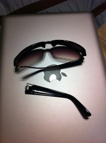 broken sunglasses
