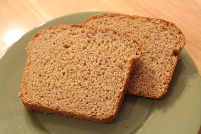 homemade honey whole wheat bread