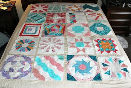 Craftsy block of the month quilt blocks