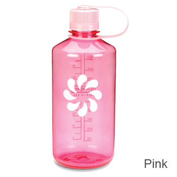 pink nalgene bottle
