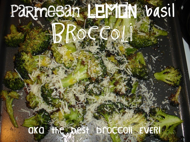parmesan lemon basil broccoli