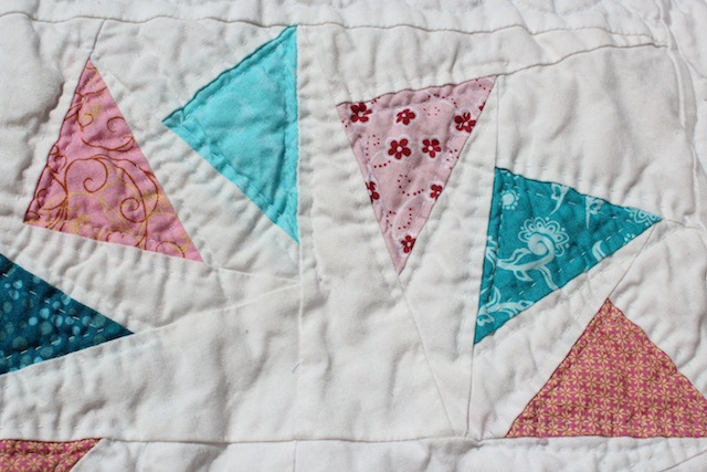 quilted flying geese