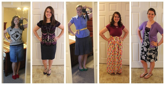 spring and summer outfits 2012