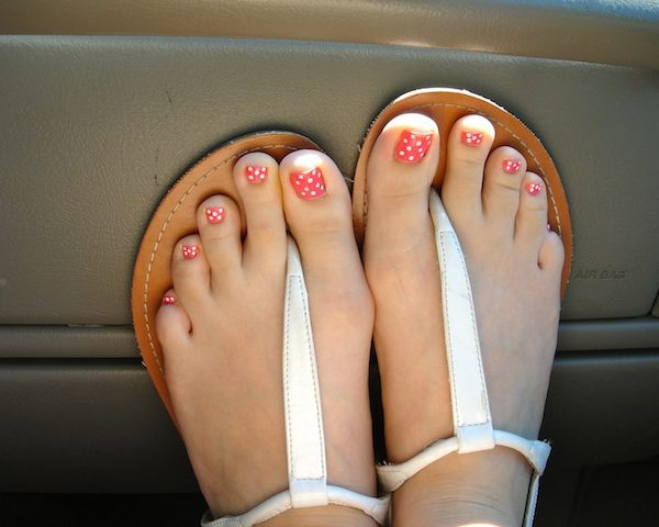 painted toes…yes or no?