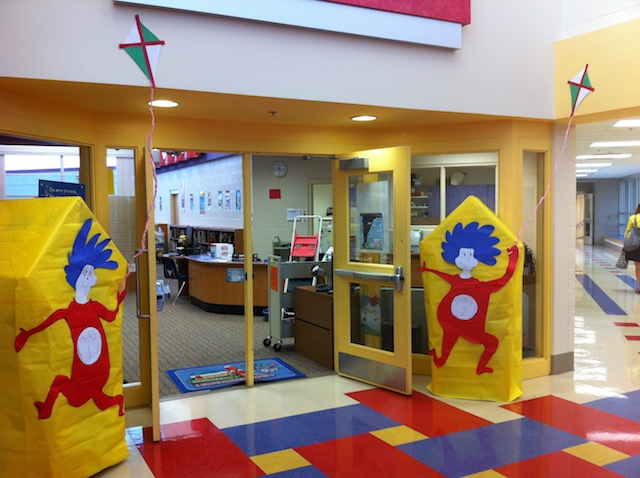 Dr Seuss Centers And Activities For The Library During Dr