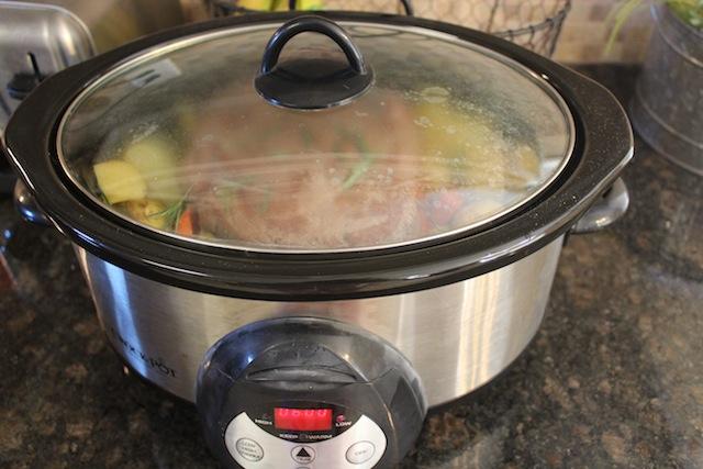 cooking pot roast
