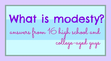 what is modesty
