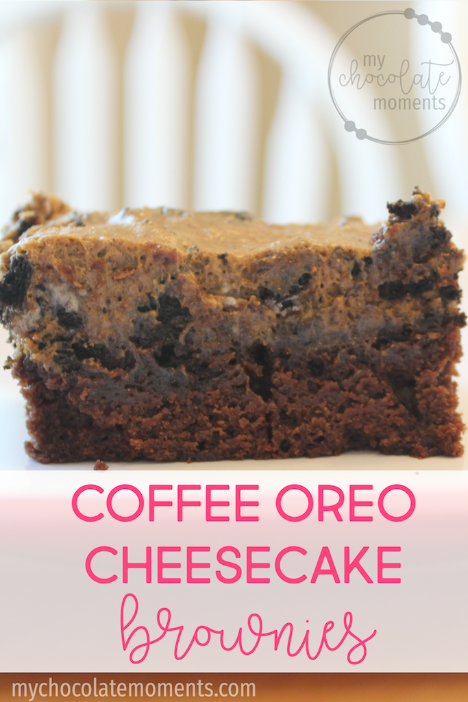 coffee oreo cheesecake brownies recipe