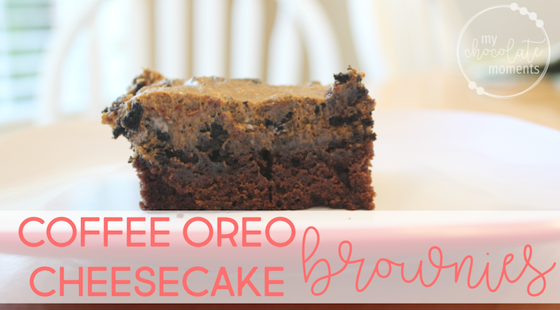 delicious coffee oreo cheesecake brownies recipe