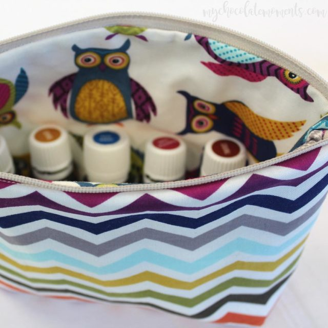 Loving this cute oil bag made by a sweet localhellip