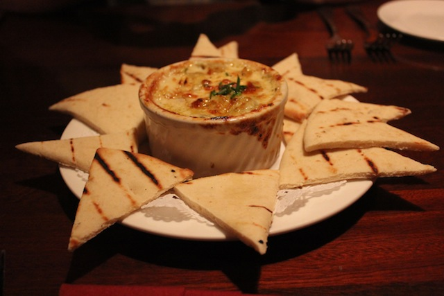 Middle Grounds Grill artichoke dip