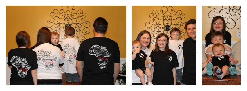 Tanzanian missions shirts