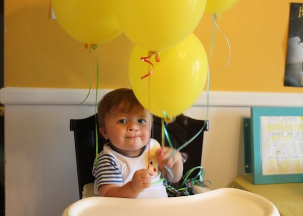 You are My Sunshine party – Levi turns one!