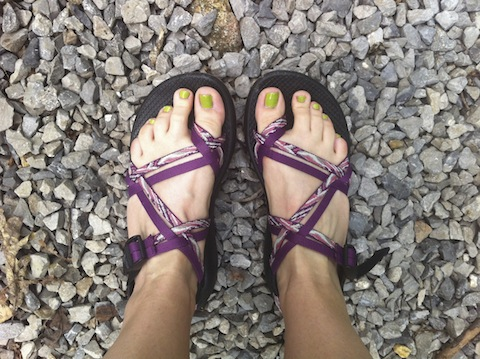 chacos for burning feet during pregnancy