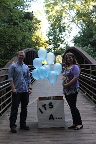 gender reveal picture