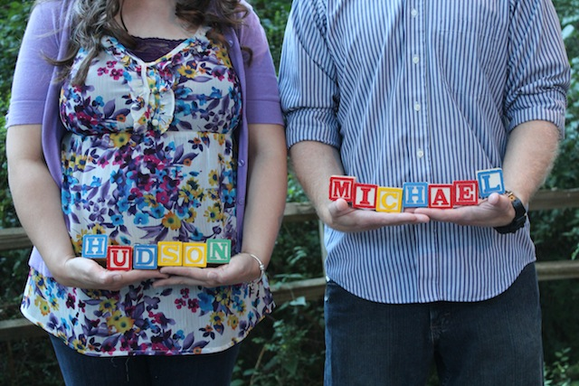 holding name blocks