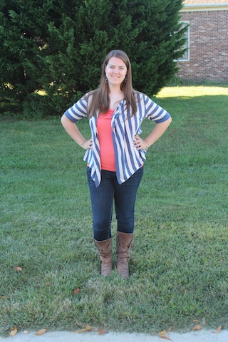 skinnies and boots | transitioning into fall maternity outfits