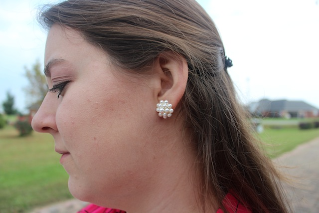 bellaboulie pearl cluster earrings