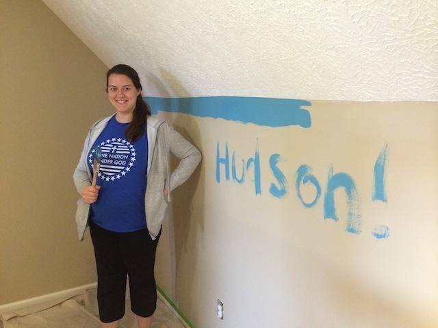 painting half wall
