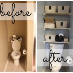 master bathroom before and after (how to maximize your tiny bathroom)