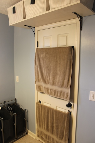 Hanging Towels On Door