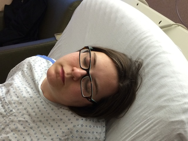 sleeping during contractions