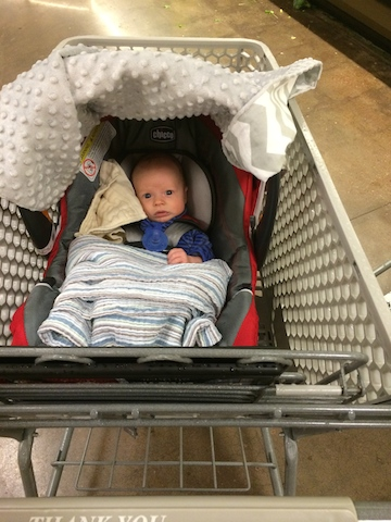 first trip to the grocery store