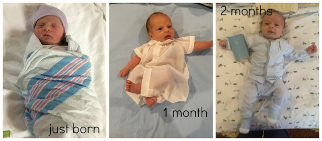first two months