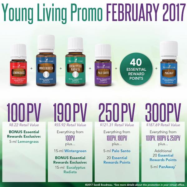 Young Living February promo 2016
