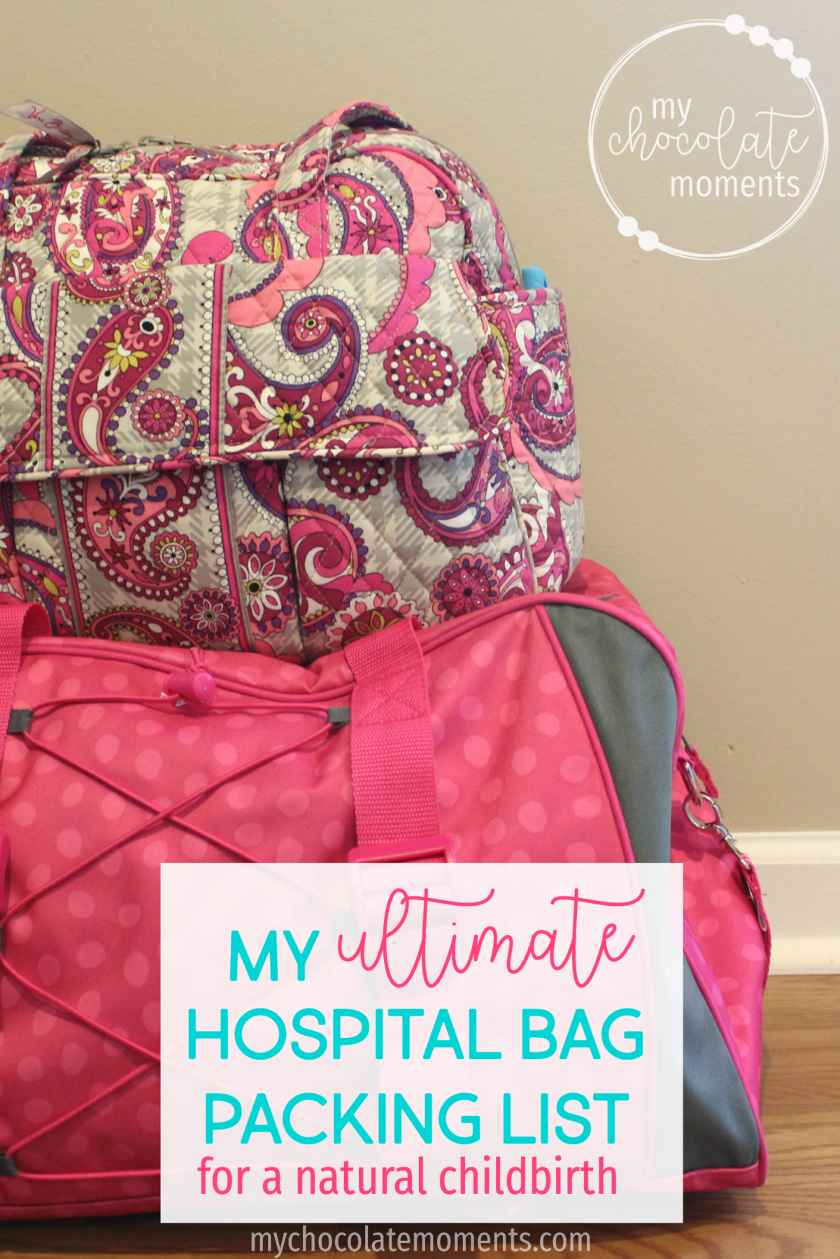 my ultimate hospital bag packing list for a natural hospital birth | natural childbirth | hospital birth | packing list | pregnancy | babies