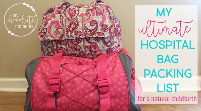 my ultimate hospital bag packing list for a natural hospital birth