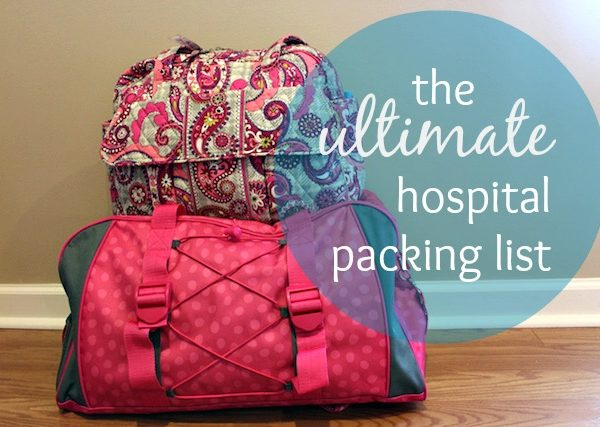 the ultimate hospital packing list
