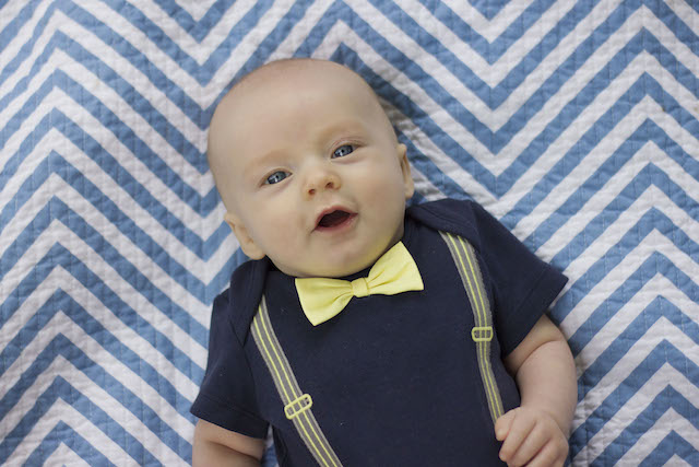 3 month pictures bowtie