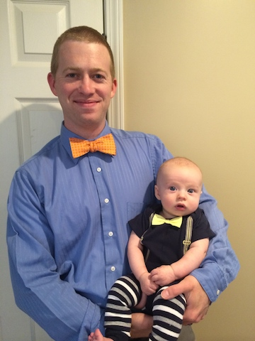 daddy and son bowties