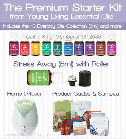 Young Living Essential Oils Premium Starter Kit Distributor # 1612080