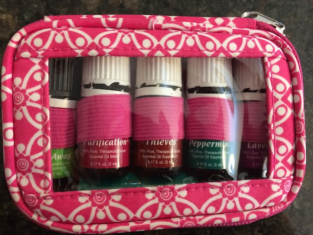 carrying case for Young Living essential oils