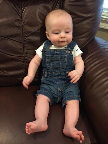 baby short overalls